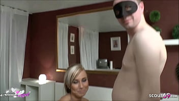 German Teen Cheating Sex at Swinger Party with Big Cock Guy 11 min