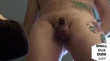 CFNM MILFs Teasing Repairmans Tiny Dick Before Handjob
