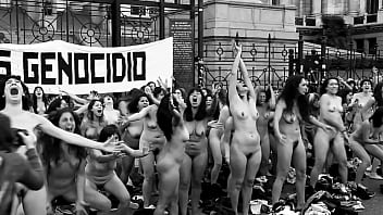 Naked women protesters india - Naked women shouting at argentina