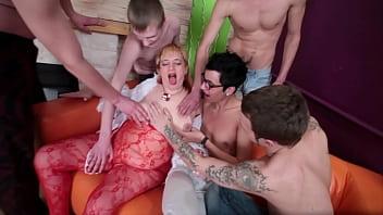 Teacher 57yo Fucks Her Young Students In A Hot Gangbang