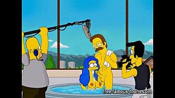 Simpsons hentai hard orgy Image