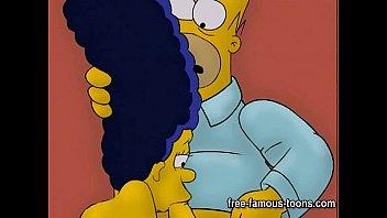 Simpsons hentai hard orgy 5 min
