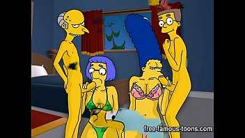 Adult comic new - Simpsons hentai hard orgy