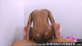 This Anal Is Killing Me!!! But I Love Step Dad & I Keep His Cock In My Ass, Cute Ebony Step Daughter Msnovember Analcowgirl Fauxcest on Sheisnovember