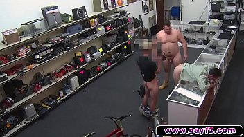 Gay proud A fucking gay sells his proud to two guys in pawn shop