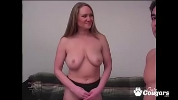 Charlotte all cock - All natural busty milf jerks off a cock with vaseline
