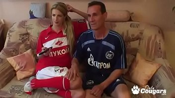 Lucky Guy Gets Fucked While Watching Soccer Porno indir