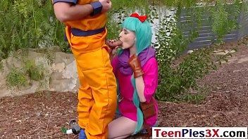 Dragon Ball Cock - Jessie Saint - FULL SCENE on http://TeenPies3X.com 6 min