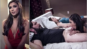 How deep is a womans pussy - Man requests escort gianna dior to roleplay comatose wife chanel preston as she lies nearby during sex