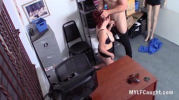 Busty Shy MILF Caught Stealing And Force Fucked- Andi James