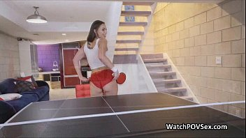Hot Fuck After Ping Pong With Gf