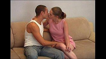 y. couple on sofa