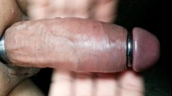 Enlarge food penis - Ring make my cock excited and huge to the max