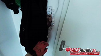 Dirty old skank Adrienne Kiss sucks the MILF Hunter dick before riding it! I banged this Milf from Milfhunting24.com