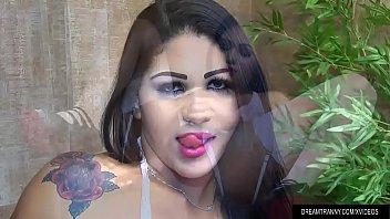 Shemale Larissa Albuquerque dildo action