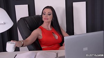 Bib breast lovers - Busty secretary aletta ocean gets titty fucked and creamed