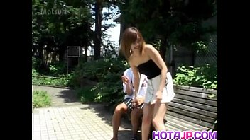 Sayaka Hagiwara has snatch touched outdoor and fucked in house 10 min