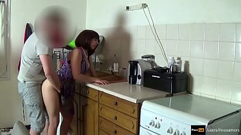 Role play in kitchen
