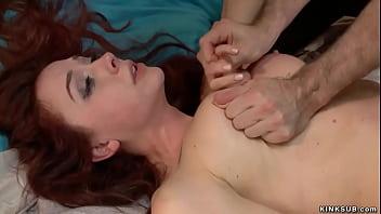 Big cock husband fucks bound wife