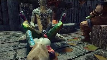 Female Player Fucked By Monsters