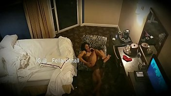 Ebony Teen Sister Work My Dick On Couch