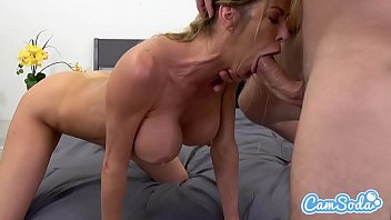 Alexis Fawx big tits hot sexy MILF fucking young ripped stud. 54分钟