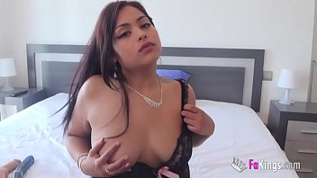 A hot latina Caro had eft to do was a horny dido masturbation