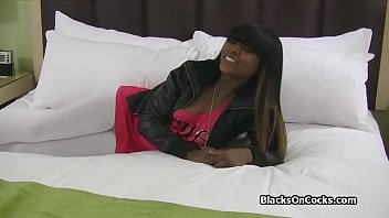Fucking cute black teen amateur on casting