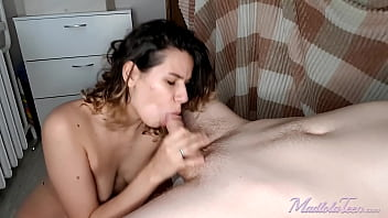 Girlfriend Rough Doggystyle Sucking and Orgasm
