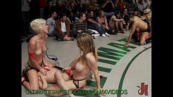 Lezdom wrestling