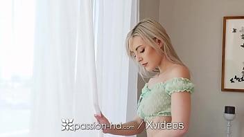 PASSION-HD See Thru Laced Blonde Jaime Jett Fucked On St Patricks Day 10 min