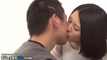 Japanese interview with busty girl turns in sex