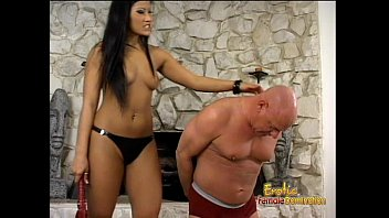 Stunning Asian bombshell Christina Aguchi has some fun with a horny dude