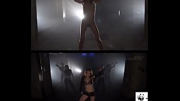 Pro-dancer asian girl dance naked PMV