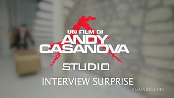 Anna Khara (ITA) - First Scene - Interview Surprise - Piss Version AC021
