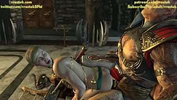 Shao Kahn And His Submissive Concubine Slave 3D Mortal Kombat 11 Animation