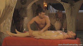 Gentle genital massage in hd...