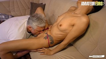 AMATEUR EURO - Skinny Housewife It's Cheating Her Husband With A Neighbor In Need