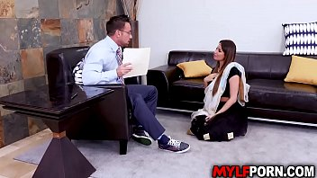 Hot Indian MILF Anissa Kate went to a sex counselor to ask some help with sex issues, the horny conselor cant resist but to fuck her pussy.