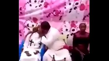 prophet Titto kisses his wife and maid for biblical love to all