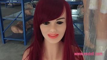 Caroline 165cm Real silicone sex doll / built-alloy skeleton