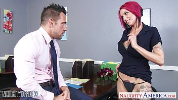 Office fuck naughty america - Pink haired office babe anna bell peaks fucking