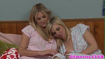 Beauty queens lesbian Lesbian girlfriend queening bff in dorm