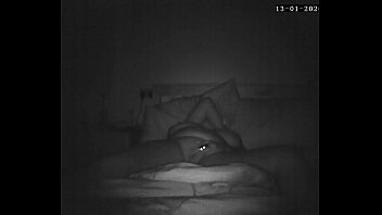 Wife caught masturbating on spycam