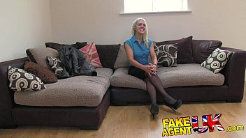 FakeAgentUK Hot British chick doubts agent in hardcore casting 11 min