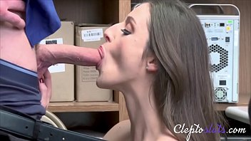 Hot Teen Lets Guard Fuck Her As Punishment- Kenzie Ryans