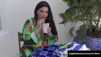 Thick Cock Sucking Cuban Angelina Castro Milks Dick In Mouth