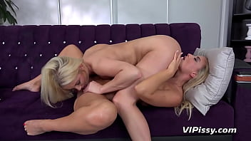69 And Piss Streams For Hot Blonde Lesbians