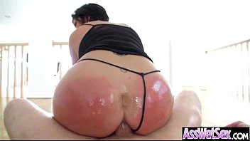 Anal Hard Sex With Big Oiled Butt Nasty Girl (shay fox) movie-27