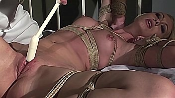 Kinky therapies for slaves serial. Part 2: Super hot slut Cindy White's cunt and mouth stuffed.